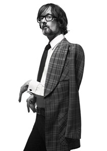 GQ 25th Birthday Edition – Jarvis Cocker wearing Edward Sexton. Rock n' Roll meets Savile Row