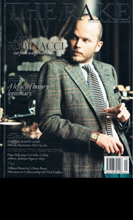The Rake cover Sept 2009