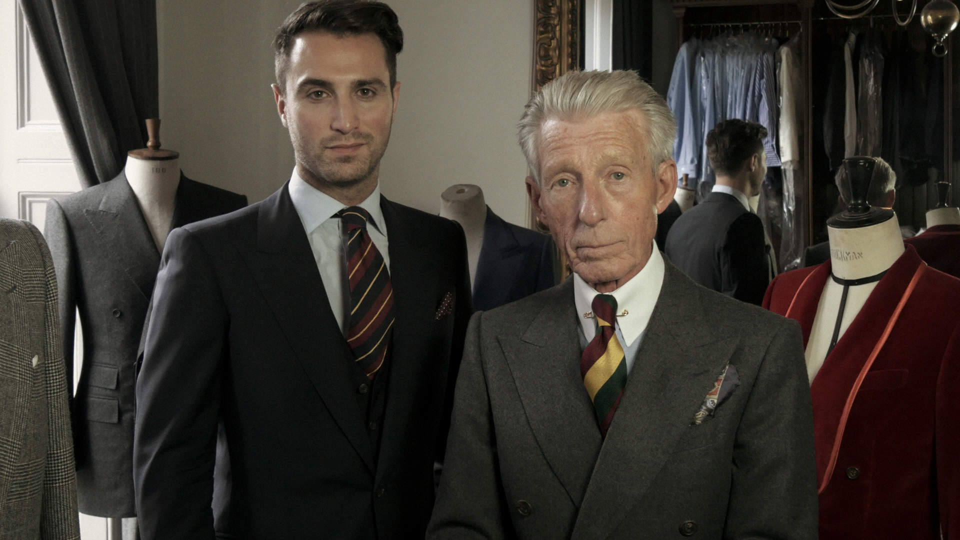 Edward and Dominic on Bespoke and made to measure.