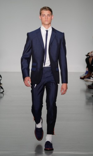 Navy Suit by Sibling and Edward Sexton