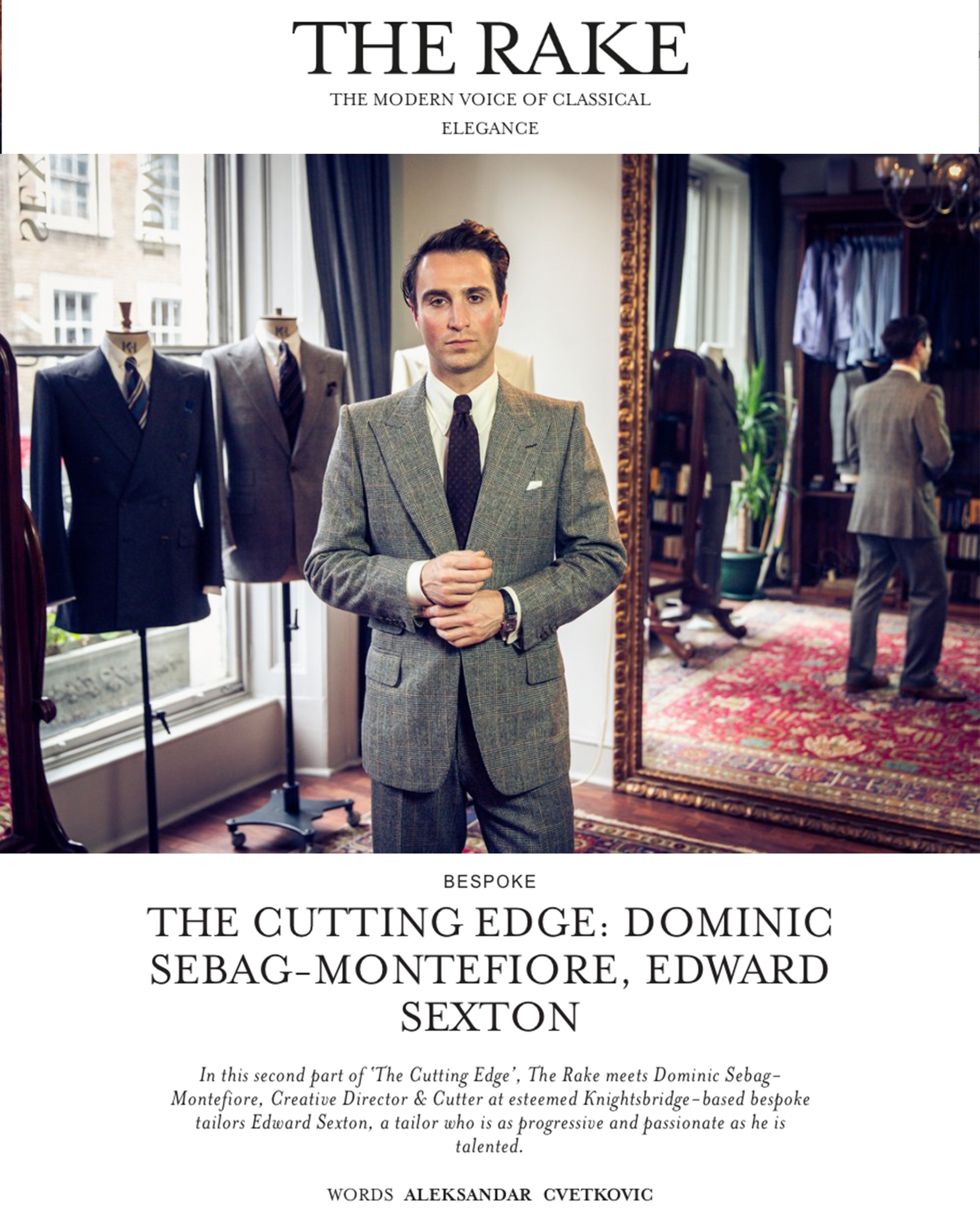 The Rake: The Cutting Edge, Dominic Sebag-Montefiore