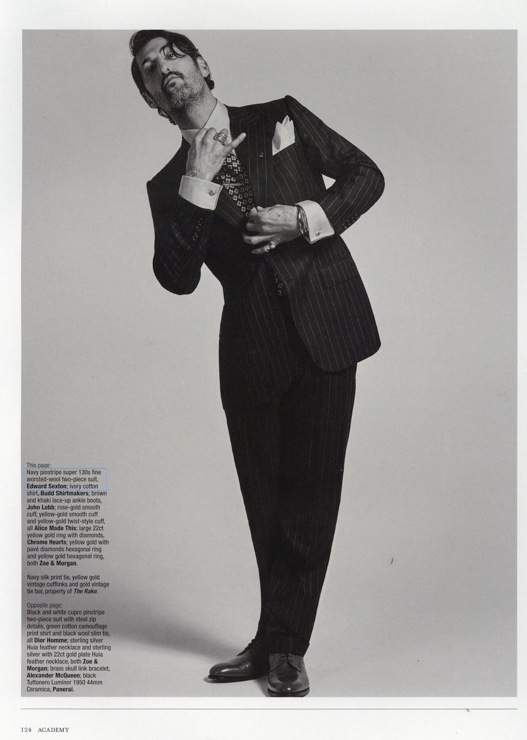 The Rake Issue 44 Edward Sexton Two Piece Suit
