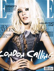 Elle October 2009 cover