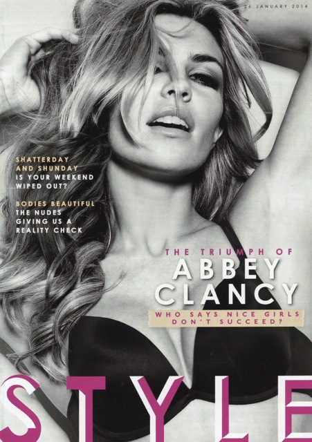 Cover of Sunday Times Style magazine