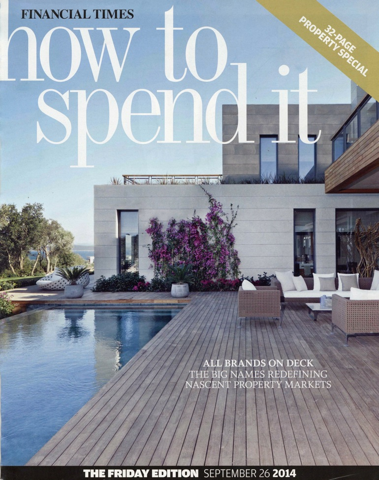 Cover of How to Spend it, 26 September 2014