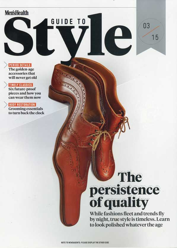 Mens Health March 2015 – 'The old rules of style'