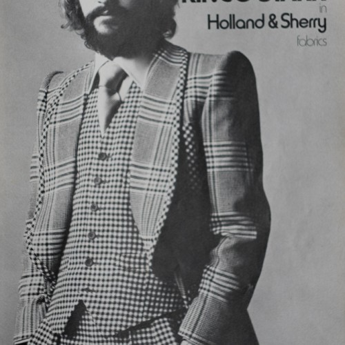 Ringo Starr Wearing Tommy Nutter suit in Vogue